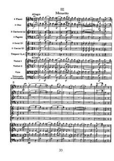 Symphony No.104 in D Major 'London', Hob.I/104: movimento III by Joseph Haydn