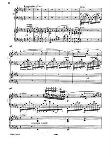 Piano Concerto in F Minor, Op.16: Movimento II, para dois pianos de quatro mãos by Adolf von Henselt