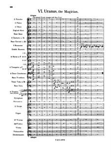 Complete Suite: Movement VI – full score by Gustav Holst
