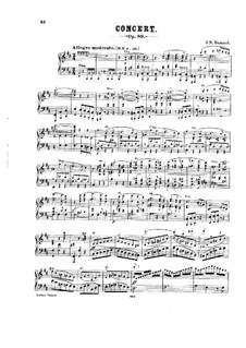 Concerto for Piano and Orchestra in B Minor, Op.89: Parte de solo by Johann Nepomuk Hummel