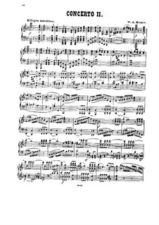 Concerto for Piano and Orchestra No.25 in C Major, K.503: arranjo para piano by Wolfgang Amadeus Mozart