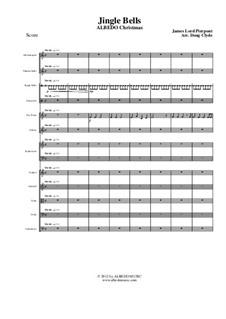 Jingle Bells: para grande conjunto, AMSM68 by James Lord Pierpont