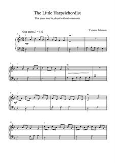The Little Harpsichordist: The Little Harpsichordist by Yvonne Johnson