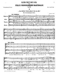 Kirchenmusik, Op.23: set completo by Felix Mendelssohn-Bartholdy