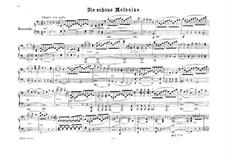 The Fair Melusina, Op.32: versão para piano de quatro mãos by Felix Mendelssohn-Bartholdy