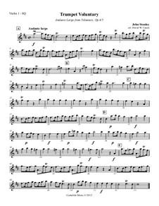 Voluntary in D Major. Andante Largo, Op.6 No.5: Voluntary in D Major. Andante Largo by John Stanley