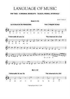 Language of Music. Contemporary solfegge method: Pdf 02 by Joan Yakkey