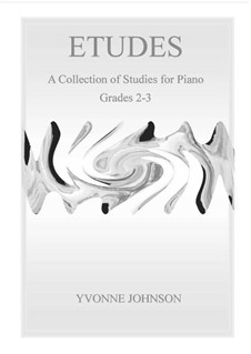 Etudes - 9 Studies For Piano: Etudes - 9 Studies For Piano by Yvonne Johnson
