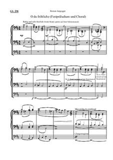 O du fröhliche (Festpräludium und Choral): O du fröhliche (Festpräludium und Choral) by Roman Jungegger