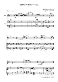 Seven Windy Tunes, Op.178: No.5 (Mistyco) by Alexander Khodakovsky