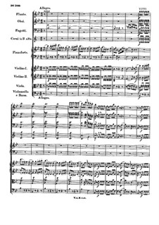 Concerto for Piano and Orchestra No.15 in B Flat Major, K.450: movimento III by Wolfgang Amadeus Mozart