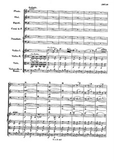 Concerto for Piano and Orchestra No.21 in C Major, K.467: movimento II by Wolfgang Amadeus Mozart