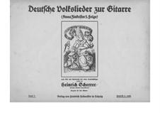 German Folksongs with Guitar: Anna Zinkeisen 2. Series by Heinrich Scherrer