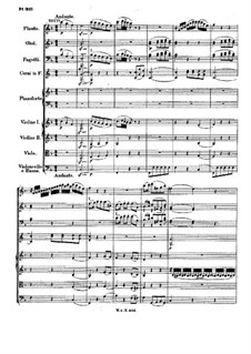 Concerto for Piano and Orchestra No.25 in C Major, K.503: movimento II by Wolfgang Amadeus Mozart