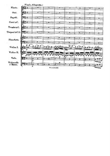 Concerto for Piano and Orchestra No.25 in C Major, K.503: movimento III by Wolfgang Amadeus Mozart