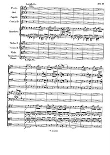 Concerto for Piano and Orchestra No.26 in D Major 'Coronation', K.537: movimento II by Wolfgang Amadeus Mozart