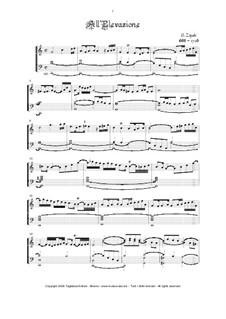 Sonate d'Intavolatura per Organo e Cimbalo: No.14 All' Elevazione in C Major by Domenico Zipoli