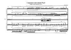 1 measure 'Etudes to the nocturnes' for piano: Movement No.4 (No.7), MVWV 586 by Maurice Verheul