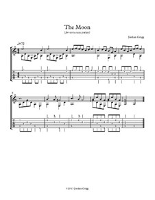 The Moon (for very easy guitar): The Moon (for very easy guitar) by Jordan Grigg