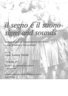 Signs and Sounds: Red solfeggio book (volume II) by Joan Yakkey