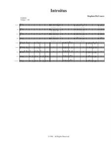 Requiem Mass: partituras completas, partes by Stephen DeCesare