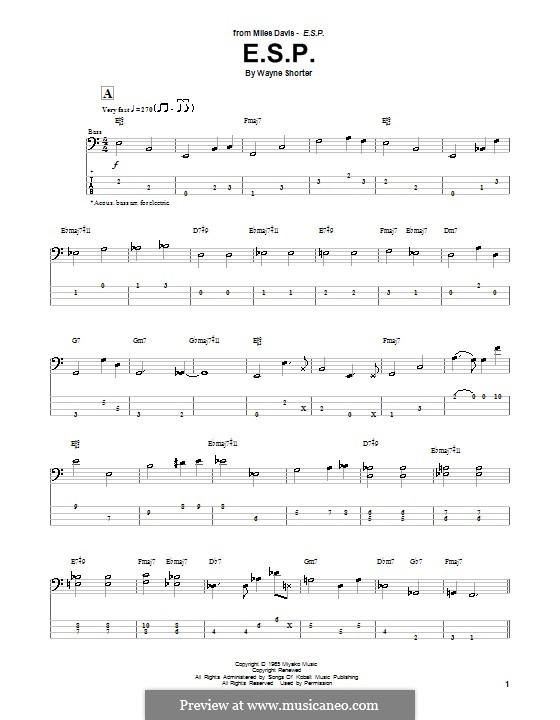 E.S.P.: para baixo com guia by Wayne Shorter