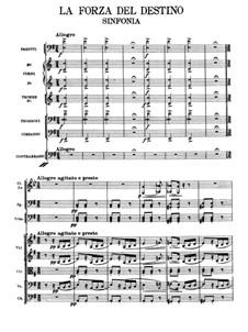 La forza del destino: partitura completa by Giuseppe Verdi
