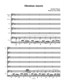 Silentium Amoris, Op.1: Silentium Amoris by Jonathan Thomas