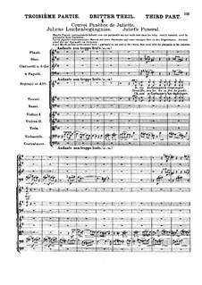 Roméo et Juliette (Romeo and Juliet), H.79 Op.17: Movement III. Full score by Hector Berlioz