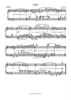 Noite, Op.1 No.2: Noite by Nikita Beltyukov