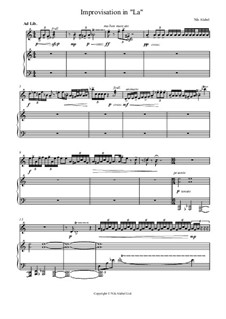 Improvisação em 'La', Op.2: Improvisação em 'La' by Nikita Beltyukov