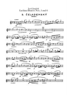 Lašské tance (Lachian Dances), JW 6/17: Dances No.5-6 – oboes parts by Leoš Janáček