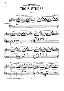 Etude No.2: Estudo No.2 by Henrique Oswald