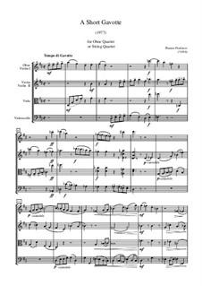 A Short Gavotte: partitura completa by Plamen Prodanov