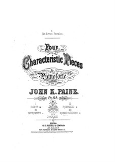 Four Characteristic Pieces, Op.25: No.4 Rondo Giocoso by John Knowles Paine