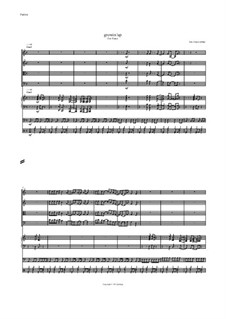 Growin up: partitura completa by Hans-Jürgen Philipp