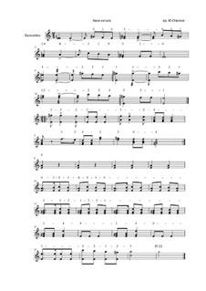 Hava Nagila: For balalaika solo, Op.17 by folklore