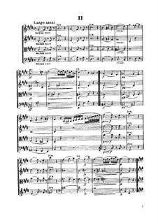String Quartet No.59 in G Minor 'Rider', Hob.III/74 Op.74 No.3: Movimentos II-III by Joseph Haydn