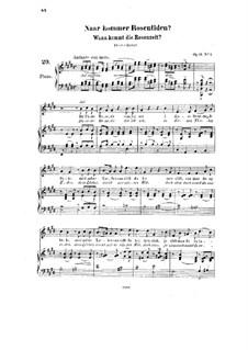 Seven Songs, Op.11: todas as musicas by Halfdan Kjerulf