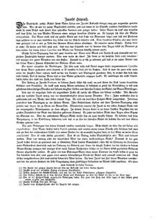 Musikalische Vorstellungen einiger biblischen Historien in sechs Sonaten: Sonate Nr.3 in G-Dur by Johann Kuhnau