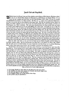 Musikalische Vorstellungen einiger biblischen Historien in sechs Sonaten: Sonate Nr.6 in Es-Dur by Johann Kuhnau
