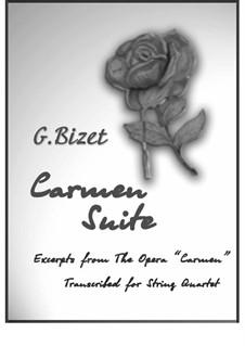 Suite para Cordas. 8 números da ópera: Suite para Cordas. 8 números da ópera by Georges Bizet