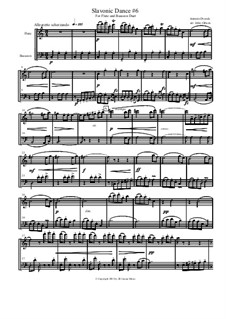 No.3 Polka: For flute and bassoon by Antonín Dvořák