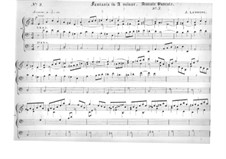 Four Pieces for Organ: No.3 Fantasia in A Minor by Jacques-Nicolas Lemmens