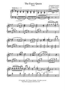 The Faery Queen: Para piano solo by Turlough O'Carolan