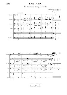 Potpourri for Viola and Orchestra, Op.94: For viola and string orchestra – score by Johann Nepomuk Hummel