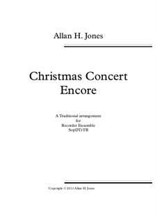 Christmas Concert Encore: Christmas Concert Encore by folklore, James Lord Pierpont