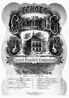 Suite No.5 in E Major, HWV 430: movimento III, para piano by Georg Friedrich Händel