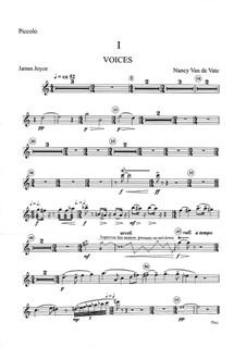 Voices of Women: Orchestral parts (Version B) by Nancy Van de Vate