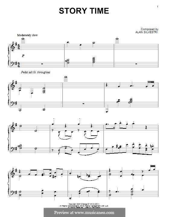 Story Time: Para Piano by Alan Silvestri